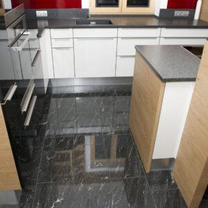 w4stone Küche bodenfließen