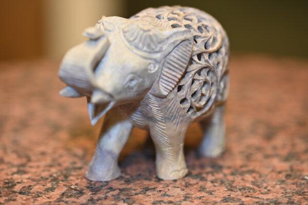 w4stone geschenkidee Elefant Stein