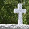 w4stone urnenwand Kreuz