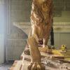 w4stone Statue Löwe